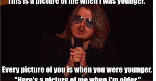 Taking pictures by Mitch hedburg