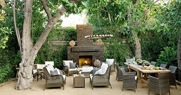 7 Ways to Upgrade Your Outdoor Space | Fireplaces, Terrace ...