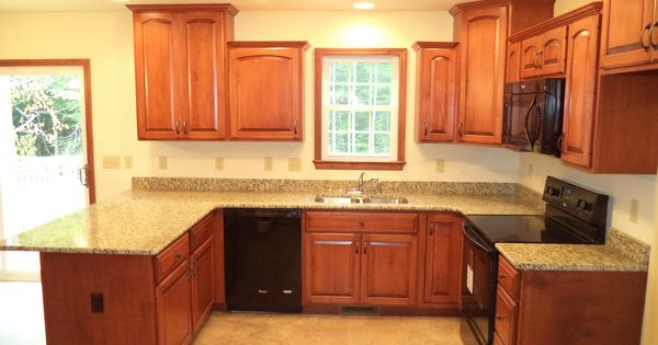 The kitchen of a jackson ii 13 91m granite countertops for Kitchen cabinets jackson