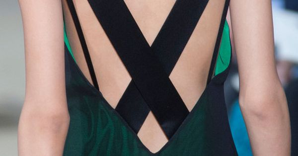 Bouchra Jarrar Fall 2012 - back detail