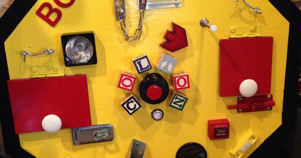 Boy Gadget Activity Board Toddler Times Pinterest