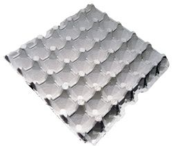30 Egg 5x6 Paper Pulp Filler Egg Flat Egg Box Flat Egg Carton Store Egg Fillers Recycled Paper Egg Box