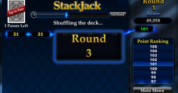 Blackjack Reborn For Adrenaline Junkies With Stackjack For Iphone