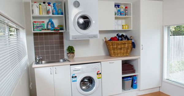Bunnings Laundry I 39 D Be Happy With Something Simple Like This In Our Small Laundry Laundry