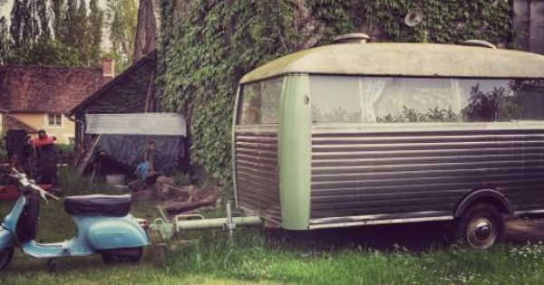 Acc Arverne 400 Gl 1965 Caravanes Camping Cars Vintages Pinterest