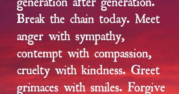 kindness matters...