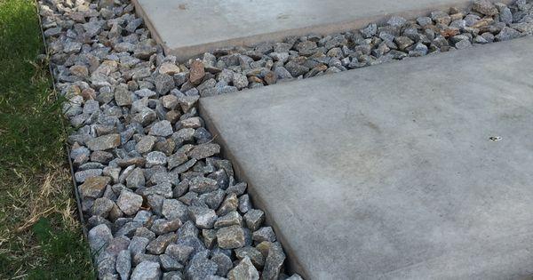 Referencia piso pasto cemento piedritas esto es en el - Cemento pulido exterior ...
