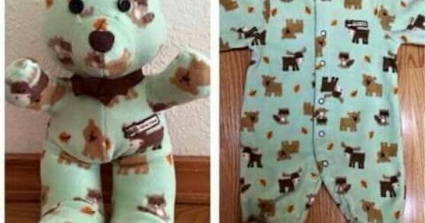 With this pattern and tutorial you can make teddy bears our of pretty
