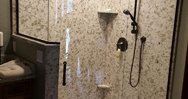 Pental Quartz Quot Serra Quot Shower Walls And Pan Pental