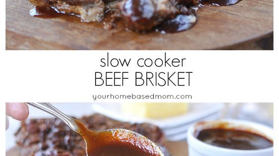 Slow cooker beef, Brisket and Beef on Pinterest