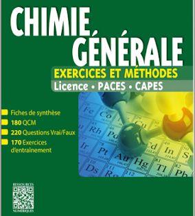 Telecharger Chimie Generale Exercices Et Methodes Tout Le Cours En Fiches Pdf Gratuitement Chemistry Einstein Books