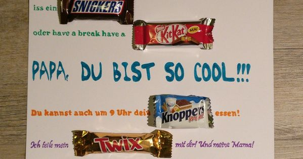 Vatertag Mars Milky Way Lion Snickers Kit Kat Knoppers ...