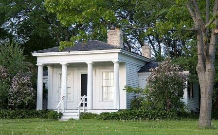 Kilbourntown House Milwaukee County Historical Society Greek Revival Architecture Greek Revival Home Architecture