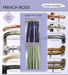 Curtain Drapery Rods