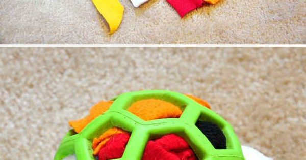 For a dog who loves to tear apart stuffed animals, make a