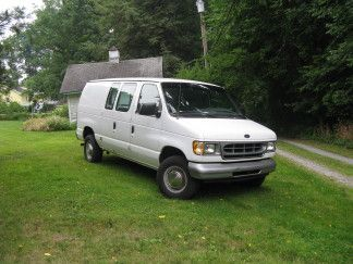 Converting A 1999 Ford E 250 Into A Camper Van Ford Truck