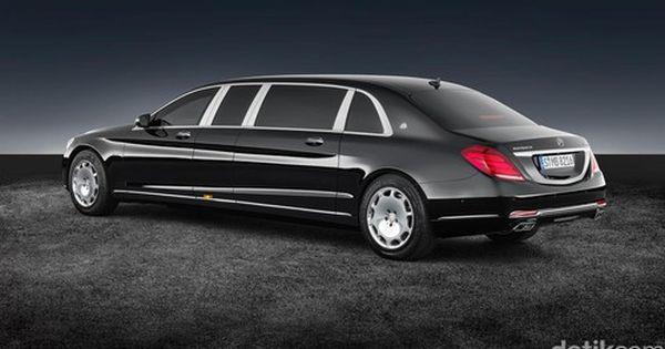 Mobil Antipeluru Para Presiden Buatan Mercy Kian Kuat Maybach Mercedes Mobil