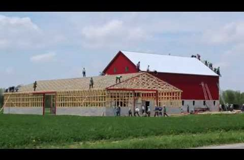 witness barn raising What can the amish tell us about working together i watched an amish barn raising last night, and reflected.