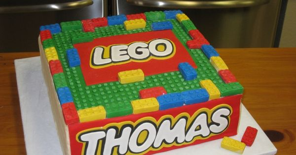Lego cake! I want this cake if I decide on a lego