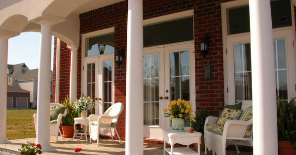 50 Covered Front Home Porch Design Ideas Railings Front