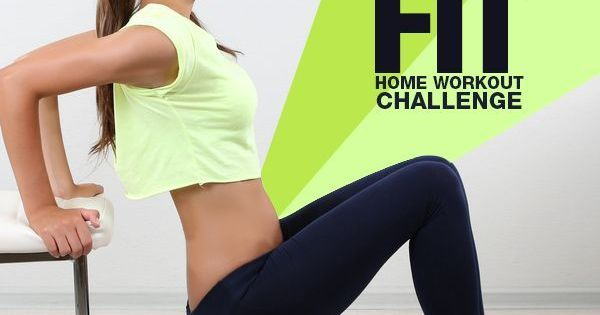 Get Fit Home Workout Challenge Workout Exercises And