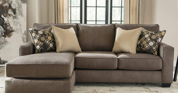 Keenum taupe sofa with reversible chaise big lots next for Big lots chaise lounge