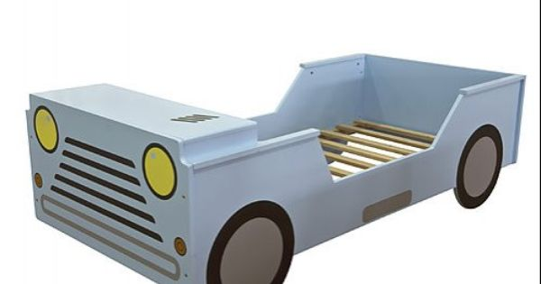 Sky Blue Jeep Car Kids Bed Online Shopping With Factoryfast