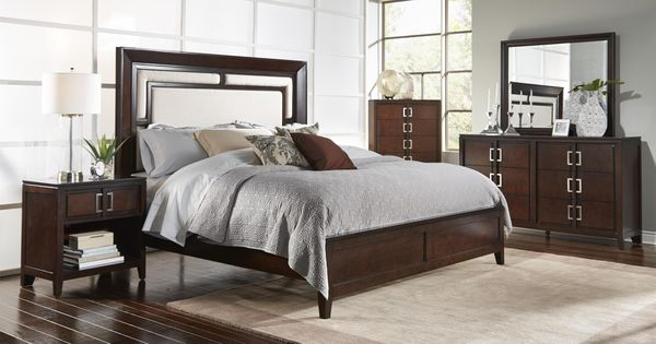 Samuel Lawrence Brighton Mocha Queen Bedroom Suite   Great American Home  Store   Bedroom Group Memphis, TN, Southaven, MS | Furniture | Pinterest