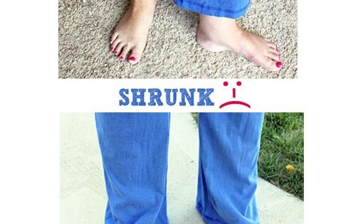 "how to ""un"" shrink clothing. I need this for my favorite shirt"