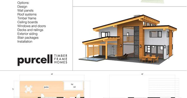 Purcell Timber Frames The Precrafted Home Company The