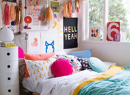 Cute teen bedroom decor