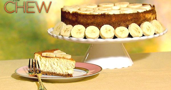 David Venable's Banana Pudding Cheesecake recipe. THE CHEW