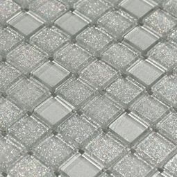 Shiny Gray Mix Glass Mosaic Floor Decor Sparkle Tiles Glitter Bathroom Glitter Tiles