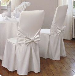 Housses Chaise Jpg 245 250 Pixels Slipcovers For Chairs Dining Room Chair Covers Dining Chair Slipcovers