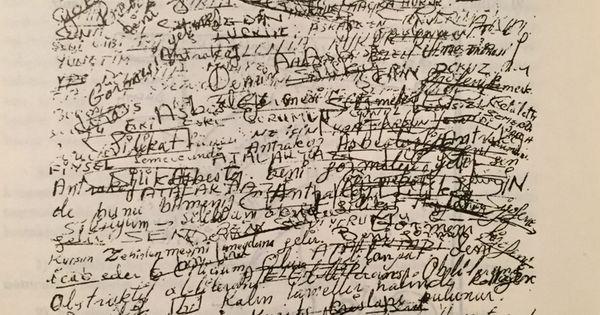 schizophrenic writings