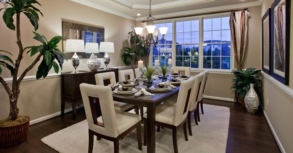 Toll Brothers At Island Lake Of Novi Executive Collection Mi Dining Rooms Pinterest