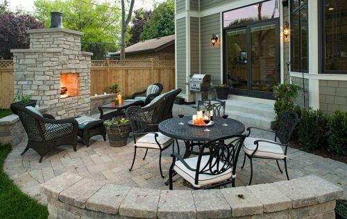 #summer2015 project build a better back yard Patio Ideas For Small Backyards