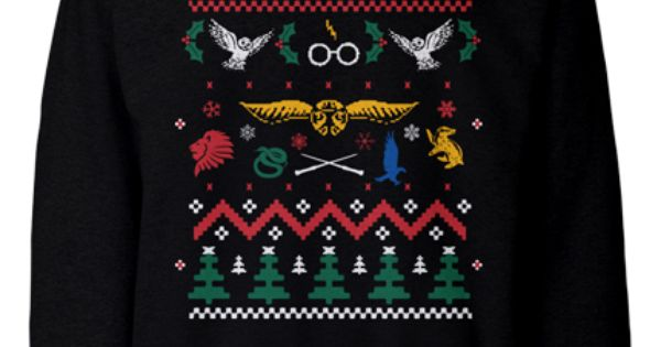 Harry Potter ugly Christmas sweater. | For My Inner Geek ...