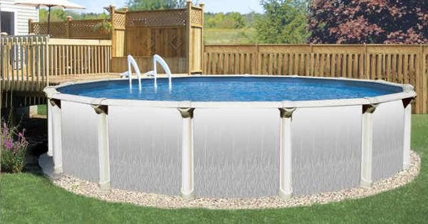 Above ground pool liner installation cost swimming pool Above ground pool installation ideas