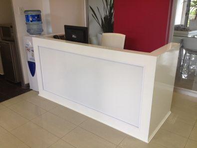 Diy Reception Desk Reception Desk Plans Reception Desk Diy