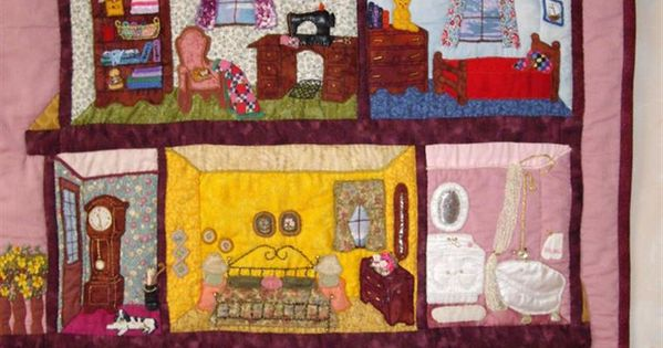 Bing Dollhouse Quilt Patterns Quilts Pinterest
