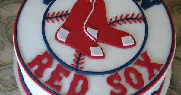 Boston Red Sox Cake Great For Birthday Party A Groom S