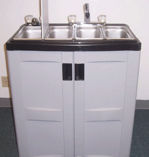 Portable Sinks Portable Vending Concession Cart Sink W Hot Water Portable Sinks Portable Sink Restaurant Sink