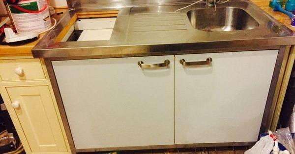 ikea free standing mini kitchen all in one sink fridge storage