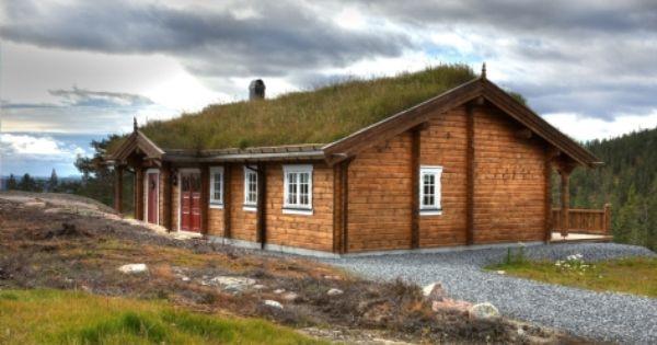 Hytte storigard. vår største tømmerhytte i tradisjonsserien hvor ...