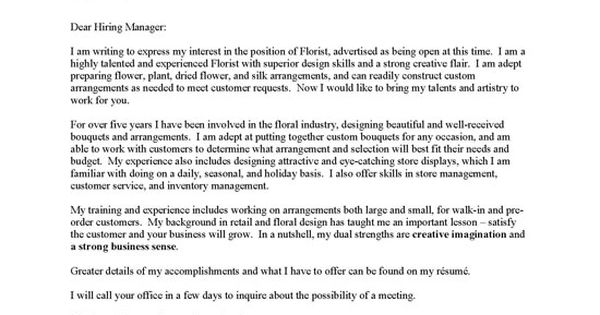 Just Basic Cover Letter Examples