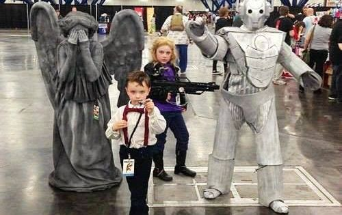 Parenting, you're doing it right. DoctorWho