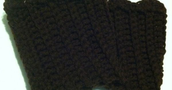 Cyber monday sale boot cuffs crochet available in any color boot