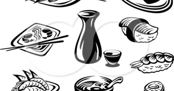 Black White Images Of Food Google Search Free Vector Illustration Vector Free Clipart Black And White
