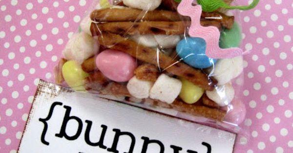 "Bunny Bait Easter treat mix @Courtney Sobert @Sally Sobert For ""That Damn"